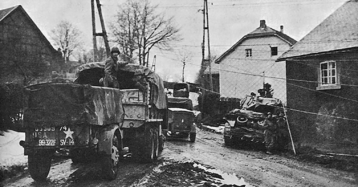 battle of the bulge 99th infantry division